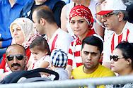 01-08-2015 VOETBAL: WILLEM II - SIVASSPOR:TILBURG<br /> Vriendschappelijke wedstrijd van Willem II op de Koningsdag 2015<br /> <br /> Turkse Supporters van Sivasspor<br /> <br /> Foto: Geert van Erven