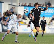 FUDBAL, BEOGRAD, 07. Nov. 2010. -  Marko Scepovic. Utakmica 11. kola Jelen Superlige Srbije (2010/2011) izmedju BSK Borca i Partizana. Foto: Nenad Negovanovic