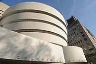 Solomon R. Guggenheim Museum, New York City, New York, designed by Frank Lloyd Wright