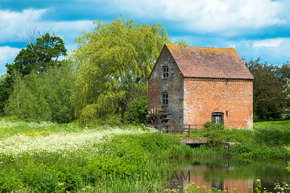 Hartpury Mill water mill, a Grade II listed building situated in the Highleadon valley in the county of Gloucestershire, UK