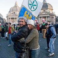 """""""Renzi a casa!"""" - Il popolo della Lega Nord"""