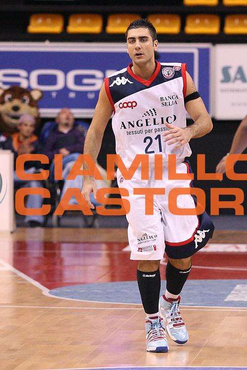 DESCRIZIONE : Biella Lega A 2009-10 Angelico Biella Sigma Coatings Montegranaro<br /> GIOCATORE : Pietro Aradori<br /> SQUADRA : Angelico Biella<br /> EVENTO : Campionato Lega A 2009-2010 <br /> GARA : Angelico Biella Sigma Coatings Montegranaro<br /> DATA : 11/04/2010 <br /> CATEGORIA : <br /> SPORT : Pallacanestro <br /> AUTORE : Agenzia Ciamillo-Castoria/S.Ceretti<br /> Galleria : Lega Basket A 2009-2010 <br /> Fotonotizia : Biella Campionato Italiano Lega A 2009-2010 Angelico Biella Sigma Coatings Montegranaro<br /> Predefinita :