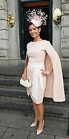 03/08/2017   Repro free  Laura Honan, Gort,  at Hotel Meyrick for Galway's 'Most Stylish Lady' Competition, at a glamorous evening reception in the Parlour Lounge of Hotel Meyrick on Ladies Day of the Galway Races. Head judge this year was the stunning Lorraine Keane,  assisted by fellow fashion experts Mandy Maher,owner of Catwalk Modelling Agency and Irish model Mary Lee  .  Photo: Andrew Downes, xposure