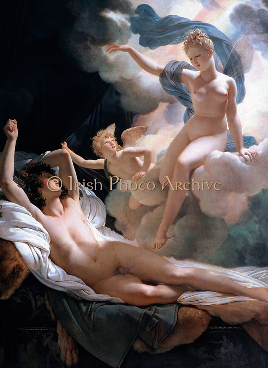 Pierre-Narcisse Guérin (1774-1833) Morpheus and Iris Oil on canvas 1811