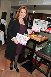 SARAH, DUCHESS OF YORK at the Delicious Glamourous Girls Christmas Bazaar held at The Little Black Gallery & 11 Park Walk, Park Walk, London on 27th November 2012.