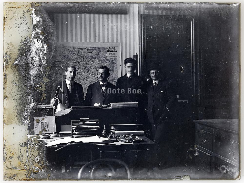 Paris engineers office early 1900s