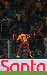 September 18, 2018 - °Stanbul, Türkiye - Galatasaray's Garry Rodrigues   celebrate his goal during Galatasaray - Lokomotiv Moskova UEFA Champions League Game at Turk Telekom Arena, 18th of Sept. 2019. (Credit Image: © Tolga Adanali/Depo Photos via ZUMA Wire)