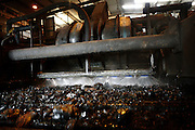 The coal is being washed in the Coal Processing Plant at Tower Colliery, the last deep mine in Wales, on Tuesday, June 19, 2007, in Hirwaun, Vale of Neath, South Wales. The time is ripe again for an unexpected revival of the coal industry in the Vale of Neath due to the increasing prize and diminishing reserves of oil and gas, the uncertainties of renewable energy sources, and the technological advancement in producing energy from coal while limiting emissions of pollutants, has created the basis for valuable investment opportunities and a possible alternative to the latest energy crisis. Unity Mine, in particular, has started a pioneering effort to revive the coal industry in the area, reopening after more than 8 years with the intent of exploiting the large resources still buried underground. Coal could be then answer to both, access to cheaper and paradoxically greener energy and a better and safer choice than nuclear energy as a major supply for the decades to come. It is estimated that coal reserves in Wales amount to over 250 million tonnes, or the equivalent of at least 50 years of energy supply, while the worldwide total coal could last for over 200 years as a viable resource compared to only a few decades of oil and natural gas.