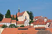 Altstadt, Trinitatiskirche, Meißen, Sachsen, Deutschland. . old town of Meissen, trinitatis church, Saxony, Germany.