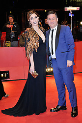Blanca Suarez and Secun de la Rosa attending The Bar Premiere during the 67th Berlin International Film Festival (Berlinale) in Berlin, Germany on Februay 15, 2017. Photo by Aurore Marechal/ABACAPRESS.COM