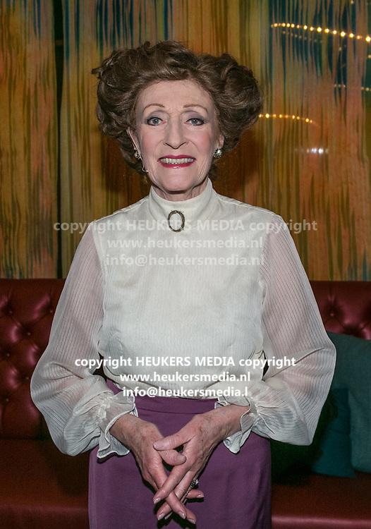 2018-03-10. Schouwburg het Park, Hoorn. 100ste My Fair Lady. Op de foto: Gerrie van der Klei