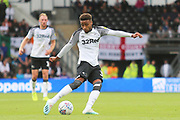 Derby County defender Jayden Bogle (37) during the EFL Sky Bet Championship match between Derby County and Swansea City at the Pride Park, Derby, England on 10 August 2019.