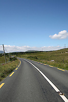 Connemara road County Galway Ireland