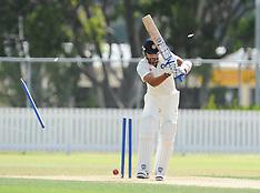 Whangarei-Cricket, India v New Zealand XI, February 03