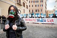 Demo against pollution in Taranto