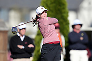 17 April 2016: Boston College's Katie Barrand. The Second Round of the Atlantic Coast Conference's Women's Golf Championship was held at Sedgefield Country Club in Greensboro, North Carolina.