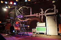 Clutch performs live at Pop's in Sauget, Illinois on November 4, 2010