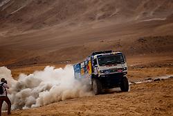 January 10, 2019 - Arequipa, Peru - AREQUIPA, PU - 10.01.2019: DAKAR 20189 - Karginov Andrey (RUS) during the 2019 Dakar Rally, on Wednesday (10), in Arequipa, Peru. (Credit Image: © Marcelo Machado De Melo/Fotoarena via ZUMA Press)
