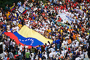 Students protest constitutional reforms proposed by President Hugo Chavez in Caracas, Venezuela in November 2007. The reforms would enhance Chavez's power enabling him to run for another term.
