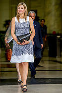 1-6-2017 - HANOI VIETNAM -  meeting with minister  Nguyen Xuan Cuong  of agriculture Queen Maxima, in her capacity as Special advocate of the Secretary-General of the United Nations, for Inclusive Finance for Development, will visit the Socialist Republic of Vietnam on Tuesday, May 30, and Thursday, June 1, 2017. COPYRIGHT ROBIN UTRECHT <br /> <br /> 1-6-2017 - HANOI VIETNAM -   Gesprek met minister Nguyen Xuan Cuong van Landbouw en Rurale Ontwikkeling. <br />  Koningin Maxima bezoekt in haar hoedanigheid van speciale pleitbezorger van de secretaris-generaal van de Verenigde Naties voor inclusieve financiering voor ontwikkeling (inclusive finance for development) de Socialistische Volksrepubliek Vietnam van dinsdag 30 mei en met donderdag 1 juni 2017.  COPYRIGHT ROBIN UTRECHT NETHERLANDS ONLY !!
