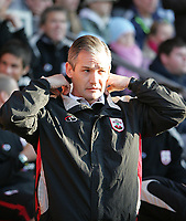 Photo: Lee Earle.<br /> Southampton v Hull City. Coca Cola Championship. 04/11/2006. Southampton manager George Burley.