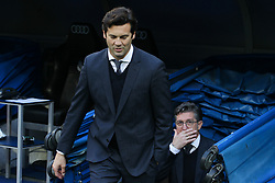 December 6, 2018 - Madrid, Madrid, Spain - Solari, coach of Real Madrid in action during the King Throphy Spanish Championship,  football match between Real Madrid and Melilla on December 06, 2018 at Santiago Bernabeu stadium  in Madrid, Spain. (Credit Image: © AFP7 via ZUMA Wire)