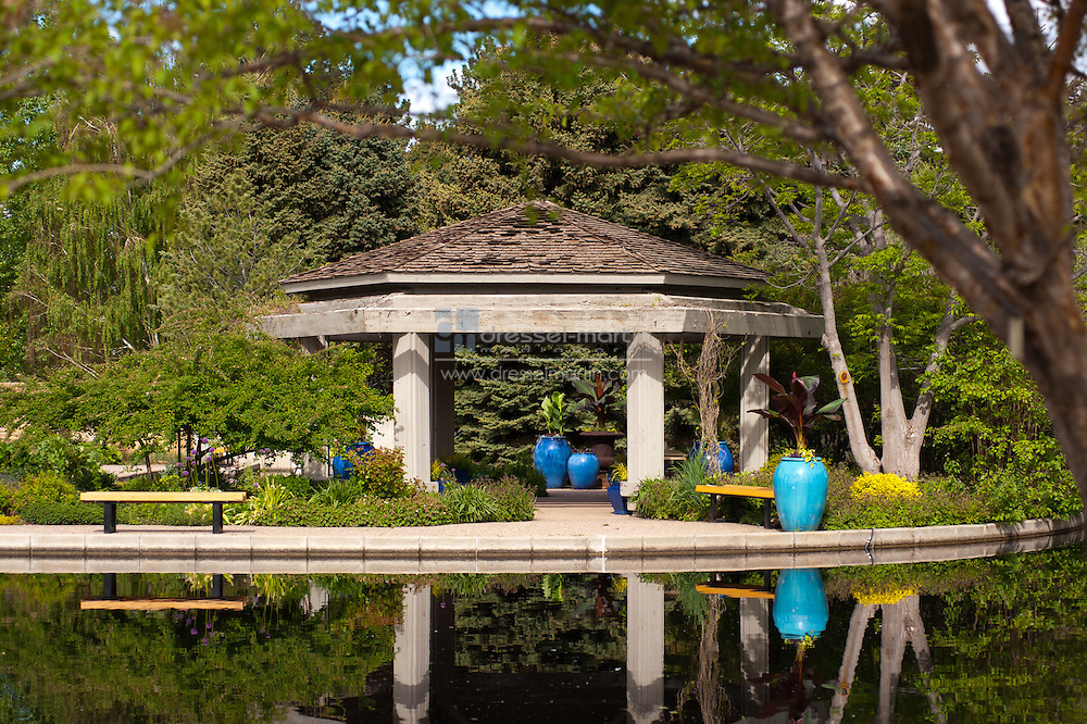 Water Garden Gazebo, May