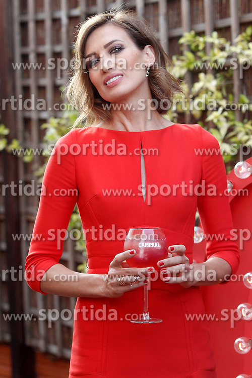 11.06.2015, Hotel Hesperia, Madrid, ESP, Nieves Alvarez er&ouml;ffnet erste Campari Red Suite, im Bild das spanische Model Nieves Alvarez // during the opening of Campari Red Suite at Hotel Hesperia in Madrid, Spain on 2015/06/11. EXPA Pictures &copy; 2015, PhotoCredit: EXPA/ Alterphotos/ Acero<br /> <br /> *****ATTENTION - OUT of ESP, SUI*****