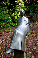 Middleheim Sculpture Park, Antwerp, Belgium - abstract reclining figure