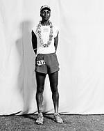 23 Simon Mtuy 247 11 M 30-39 20:36:09 12:22<br /> 2007 Western States 100 Finish Line Portraits. Auburn, CA. June 23-24, 2007.