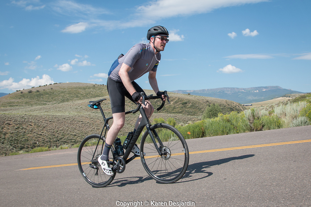 Along the 66 mile course between Phippsburg and Yampa, Tour de Steamboat 2018