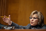 """Senator Barbara Boxer (D-CA) during an Environment and Public Works Committee during a hearing on """"Oversight Hearing on Disease Clusters and Environmental Health."""""""