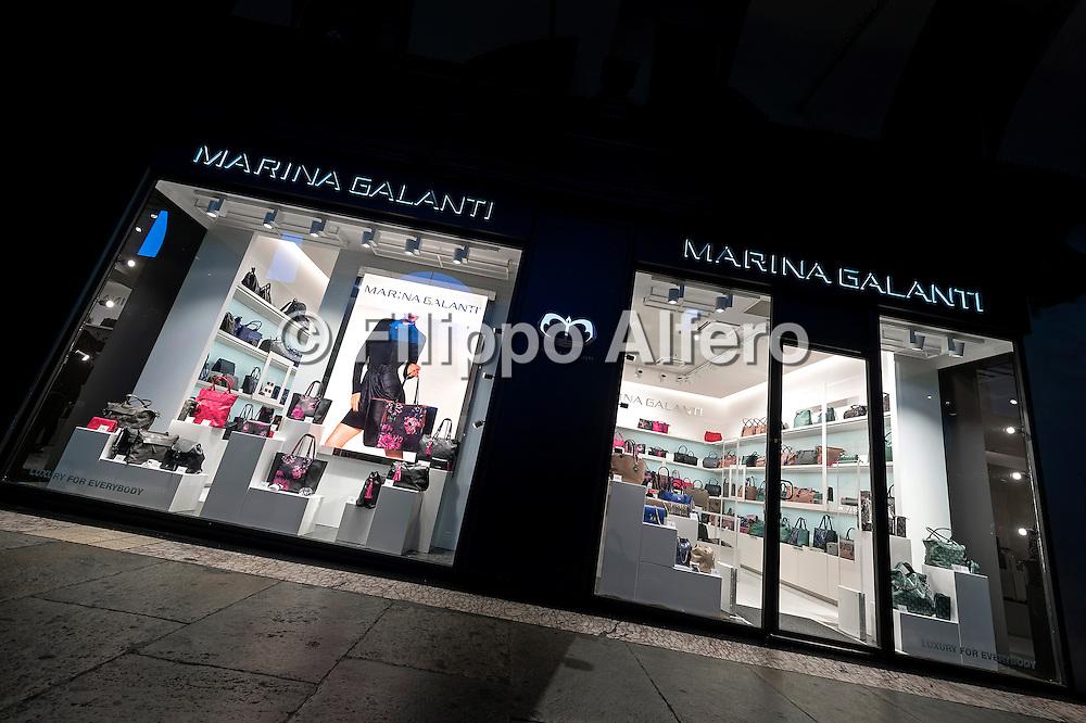 © Filippo Alfero<br /> Marina Galanti - negozio di borse a Torino<br /> Torino, 19/09/2015