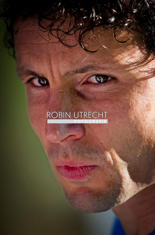 Dutch international football player Mark van Bommel  during the training for the trainingcamp of the Netherlands national football team in Hoenderloo on May 28, 2012. AFP PHOTO/ ROBIN UTRECHT