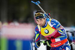 Martin Fourcade (FRA) during Men 10 km Sprint of the IBU Biathlon World Cup Pokljuka on December 17, 2015 in Pokljuka, Slovenia. Photo by Ziga Zupan / Sportida