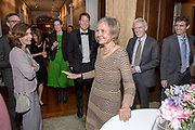 Photography &copy;Mara Lavitt<br /> May 12, 2018<br /> The Union League Cafe, New Haven<br /> <br /> Retirement party for SOM professor Sharon Oster.