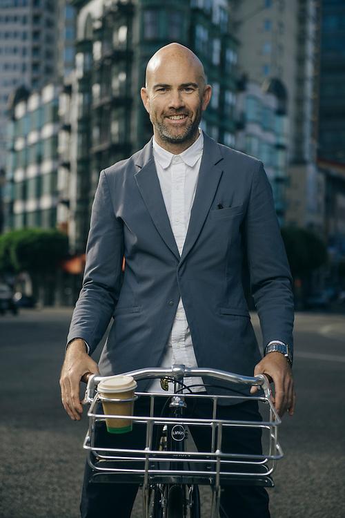 Vaughn Brown, founder of Parker Dusseau apparel, San Francisco | Bicycling Magazine