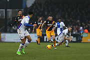 Bradford City Captain Romain Vincelot (6) sprints with the ball 1-1 second half during the EFL Sky Bet League 1 match between Bristol Rovers and Bradford City at the Memorial Stadium, Bristol, England on 11 February 2017. Photo by Gary Learmonth.