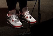 Ashley Seamster rocking the Jordans at Jimmy Maks
