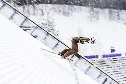 February 8, 2019 - Lahti, Finland - David Mach competes during Nordic Combined, PCR/Qualification at Lahti Ski Games in Lahti, Finland on 8 February 2019. (Credit Image: © Antti Yrjonen/NurPhoto via ZUMA Press)