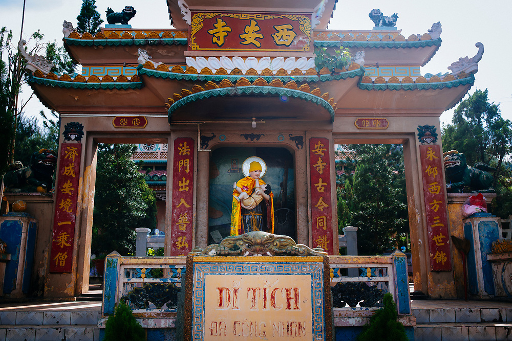 Lady Xu Temple in Chau Doc, the Mekong Delta, Vietnam.