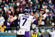 December 10, 2017: Minnesota vs Carolina. Keenum, Case