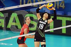 Japan Haruka Miyashita sets a ball