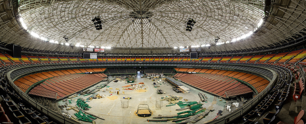 Inside of the Astrodome. Houston, Tx<br /> Photographed by editorial photographer by Nathan Lindstrom