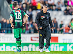 25.05.2019, Tivoli Stadion Tirol, Innsbruck, AUT, 1. FBL, FC Wacker Innsbruck vs SV Mattersburg, Qualifikationsgruppe, 32. Spieltag, im Bild Trainer Thomas Grumser (FC Wacker Innsbruck) // during the tipico Bundesliga qualification group 32nd round match between FC Wacker Innsbruck and SV Mattersburg at the Tivoli Stadion Tirol in Innsbruck, Austria on 2019/05/25. EXPA Pictures © 2019, PhotoCredit: EXPA/ Stefan Adelsberger
