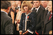 07.JULY.2011. PARIS<br /> <br /> ANNA WINTOUR, EDITOR OF FRENCH VOGUE, WAS MADE KNIGHT OF THE LEGION OF HONOUR AT ELYSEE PALACE DURING A SERVICE TO HONOUR DISTINGUISHED PERSONALITIES, IN PARIS<br /> <br /> BYLINE: EDBIMAGEARCHIVE.COM<br /> <br /> *THIS IMAGE IS STRICTLY FOR UK NEWSPAPERS AND MAGAZINES ONLY*<br /> *FOR WORLD WIDE SALES AND WEB USE PLEASE CONTACT EDBIMAGEARCHIVE - 0208 954 5968*