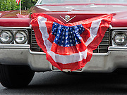 Niantic, CT - July 4, 2011: The 39th Annual Black Point Beach Club Independence Day Parade in the small town of Niantic, CT USA.