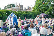 Changeling Theatres'_Measure for Measure is inspired by the Moulin Rouge with its hint of the Burlesque. This witty Shakespeare comedy has a story line full of twists and tuens as sin meets virtue and good battles against evil. In the gardens of Walmer Castle, Kent. © Tony Nandi 2018