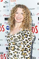 Melanie Masson, WhatsOnStage Awards Nominations - launch party, Cafe De Paris, London UK, 06 December 2013, Photo by Raimondas Kazenas