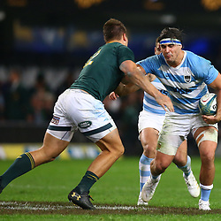 DURBAN, SOUTH AFRICA - AUGUST 18: Pablo Matera of Argentina during the Rugby Championship match between South Africa and Argentina at Jonsson Kings Park on August 18, 2018 in Durban, South Africa. (Photo by Steve Haag/Gallo Images)